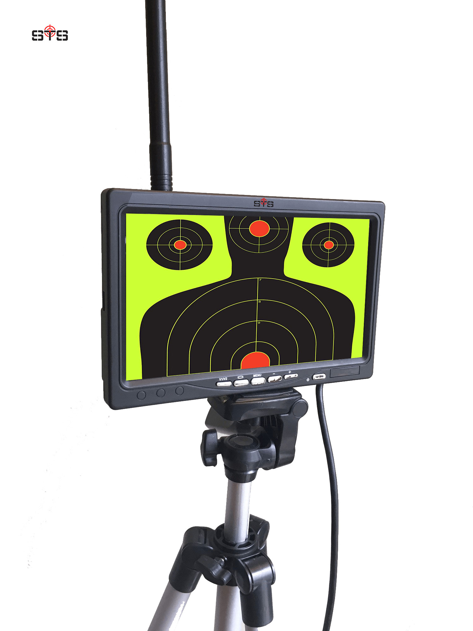 Camera Monitoring System : Wireless target monitoring system up to yards super