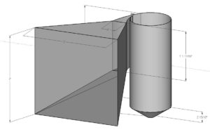 Steel Bullet trap schematic