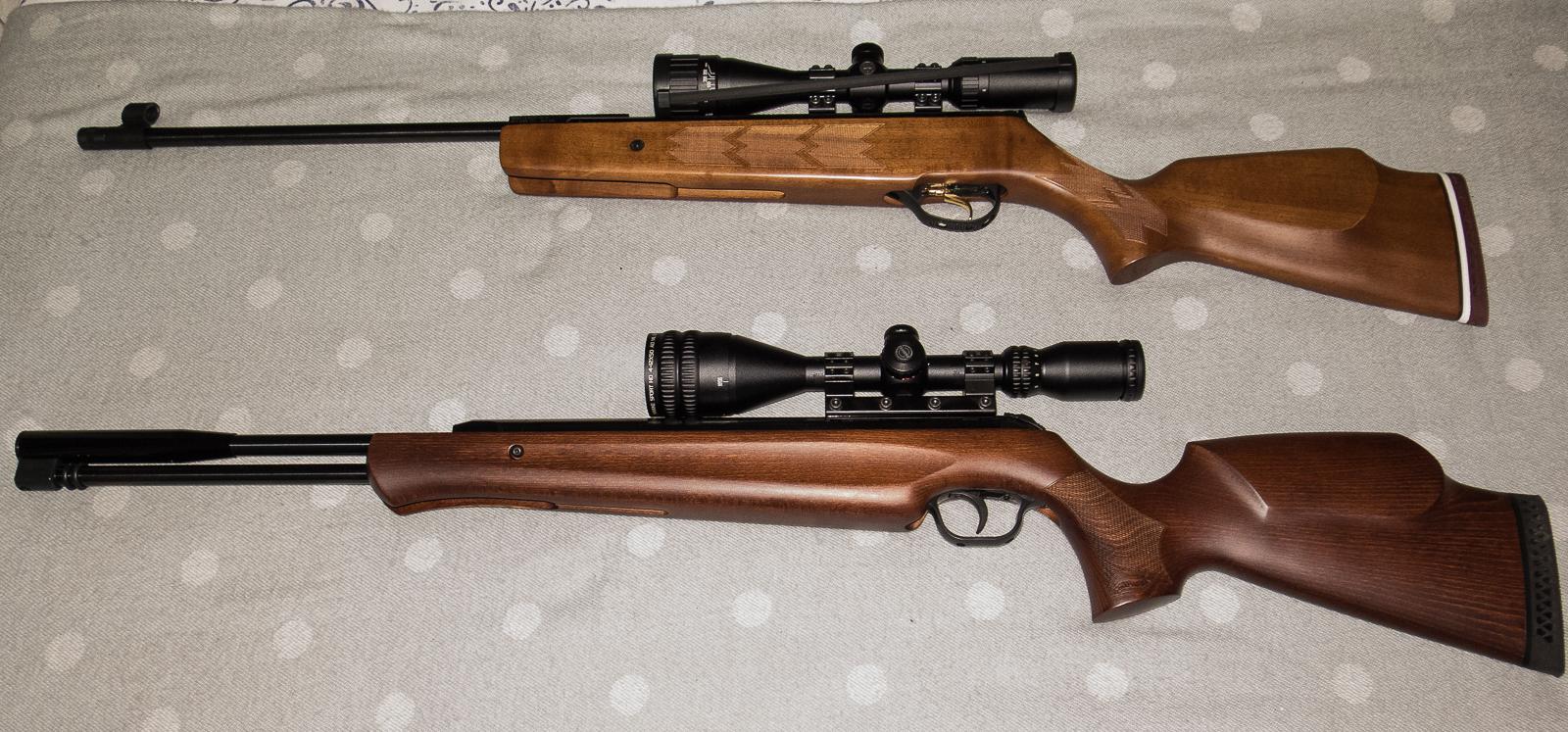 Air rifle types