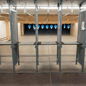 Shooting range stalls