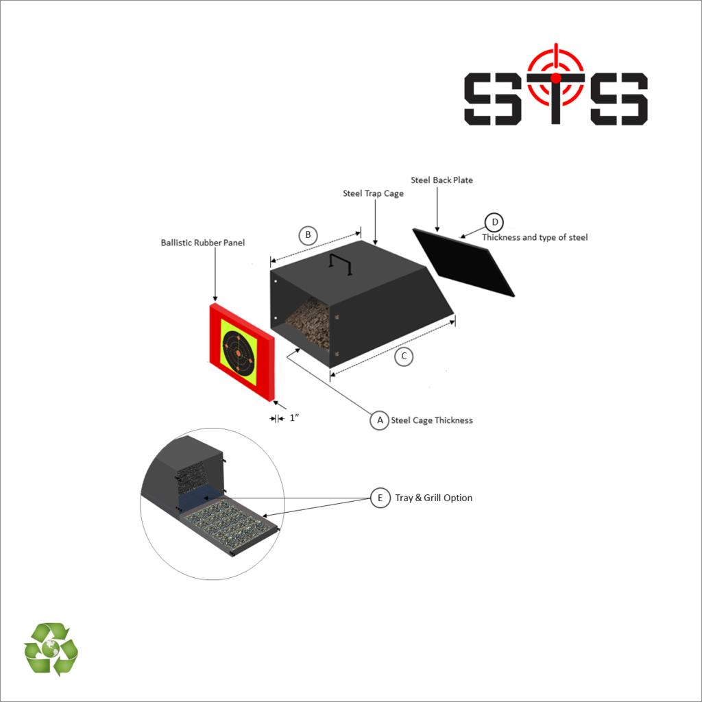 Custom Designed Bullet Traps