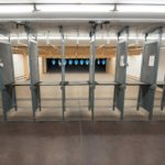 Indoors shooting range target retrieval systems