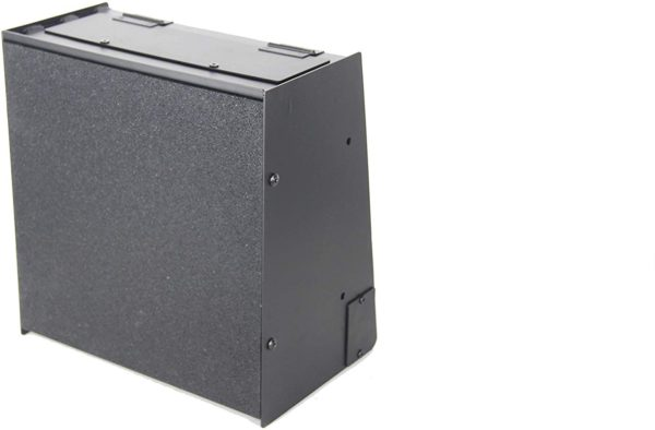 Bullet Trap 12 x 12 Ballistic Rubber Face, Enclosed to Keep Lead Dust Inside, for .22, 9 mm.45 Caliber