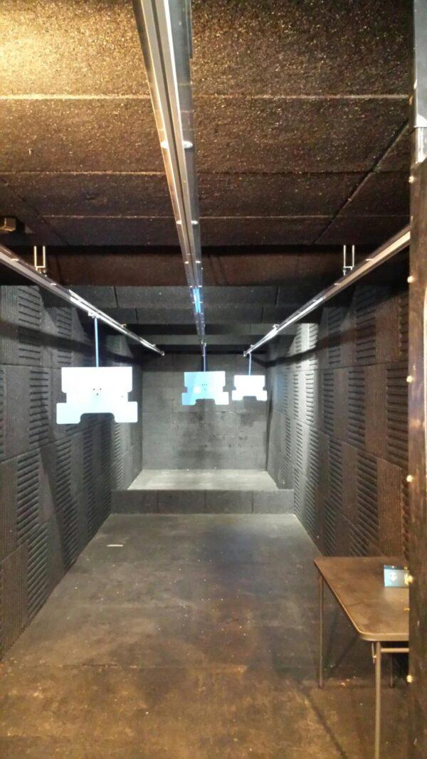 Indoor Shooting Range - Target Retrieval System